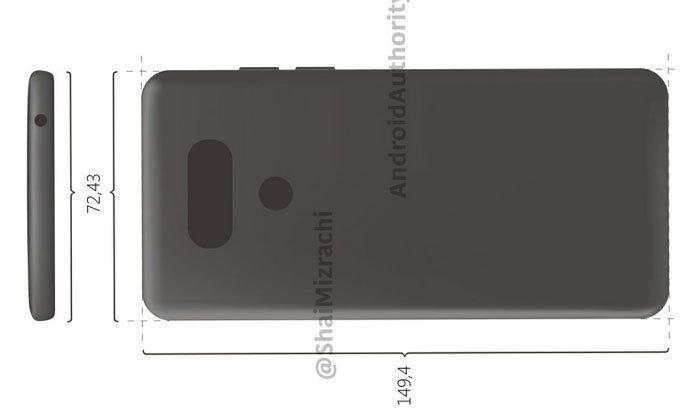 สื่อนอกเปิดเผย 2 ภาพร่างที่คาดว่าจะใช่ LG G6 คล้ายกับรุ่นเดิม