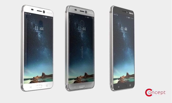 ภาพคอนเซ็ปต์ Nokia P1 ก่อนเปิดตัวอย่างเป็นทางการในงาน Mobile World Congress 2017