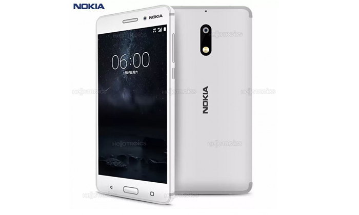 แรงข้ามถิ่น Nokia 6 สีขาวพร้อมขายที่ฟิลิปปินส์ พรุ่งนี้