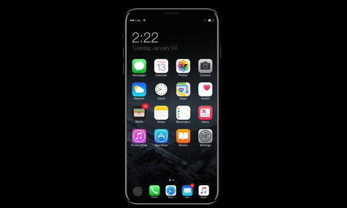 Neikei เผยข้อมูล iPhone 8 จะใช้หน้าจอขนาดใหญ่ถึง 5.8 นิ้วแบบ OLED