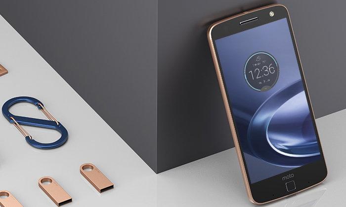 5 ข้อ ที่คุณต้องหลงรัก Moto Z และ สีใหม่ Moto Z Roes Gold สมาร์ทโฟนแนวใหม่แตกต่างเพื่อความเป็นตัวคุณ