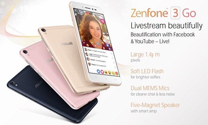 หลุดสเปคและภาพตัวเครื่องของ ASUS Zenfone 3 Go มือถือสวยเรียบงบเบา ๆ