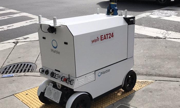 จะดีแค่ไหน ถ้าหุ่นยนต์จะให้บริการส่งอาหารแทนคน