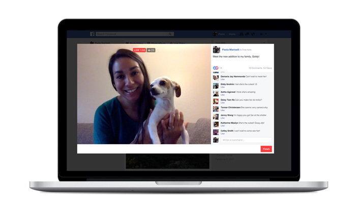 Facebook Live เพิ่มช่องทาง Live ผ่านคอมพิวเตอร์ได้แล้ว