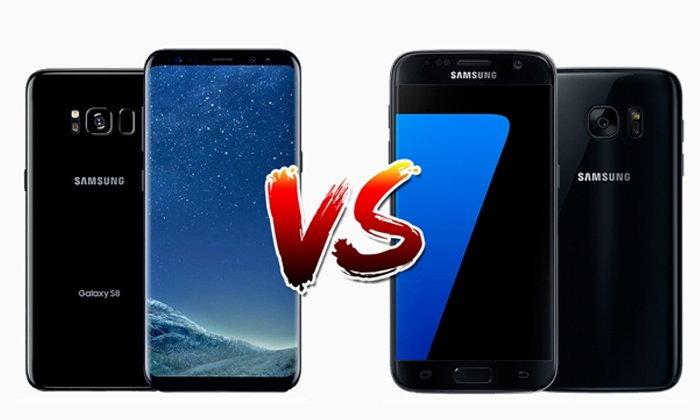 เปรียบเทียบ Samsung Galaxy S8 และ Galaxy S7 ต่างกันอย่างไร มีอะไรเปลี่ยนไปบ้าง?