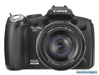Cannon PowerShot SX1 IS