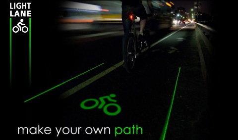 """ขี่จักรยาน""""ปลอดภัย""""ด้วย LightLane"""
