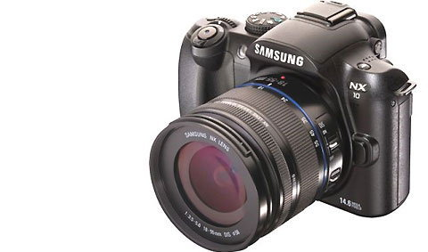 Samsung NX10 คู่แข่งกล้อง D-SLR