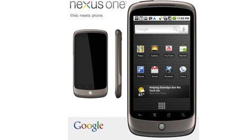 มือถือ Google Nexus One เปิดตัวแล้ว!!!