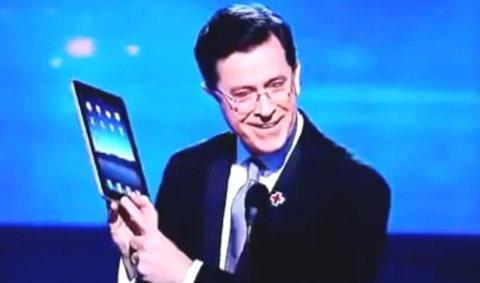 """iPad โผล่ในงาน """"แกรมมี่อะวอร์ดส์"""""""