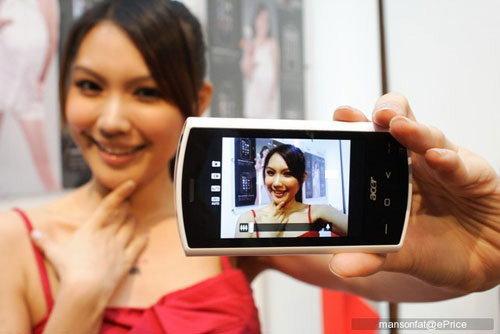 Acer Liquid เปิดตัวแล้ว แรงด้วย 768 MHz