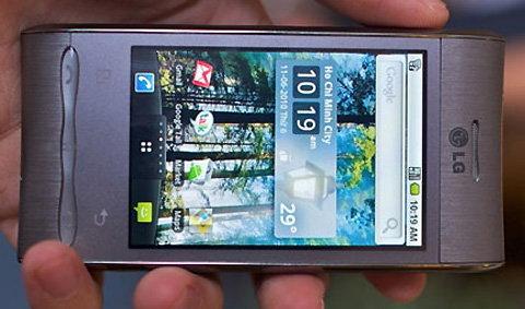 LG Optimus GT540 หรูเรียบและไม่แพง