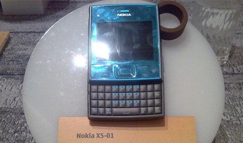 เตรียมพบ Nokia X5-01 เร็วๆ นี้ ...
