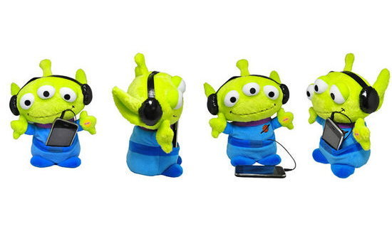 ตัวอย่าง Preview TOY STORY 3 Dancing Aliens for iPhone!