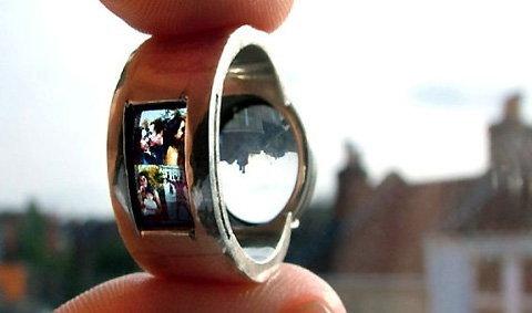 """""""แหวนแต่งงาน""""ที่ฉายภาพคู่รักออกมาได้"""