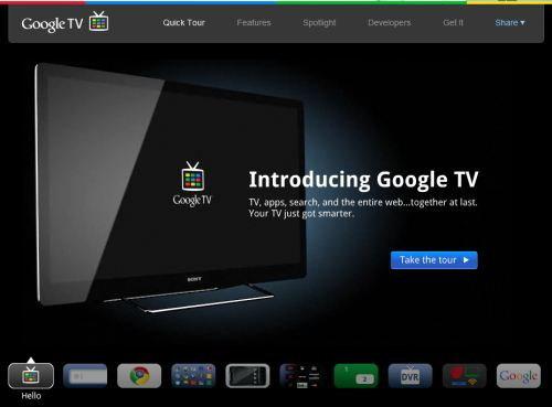 """Google TV ดูทีวีแต่เหมือน""""ท่องเน็ต"""""""