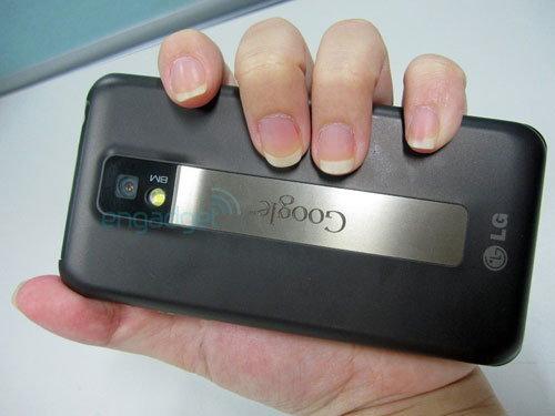 LG โชว์เจ๋ง ส่ง แอนดรอยด์โฟน แบบ Dual Core ลงตลาด