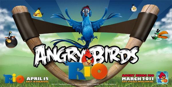 Angry Birds Rio นกพิโรธเวอร์ชั่นใหม่จะคลอดเดือน มีนาคม แล้ว