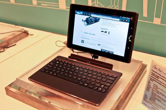 ลือหึ่ง! Asus เตรียมส่ง Eee Pad Transformer 2 ใช้ Tegra 3, Android 2.4!!