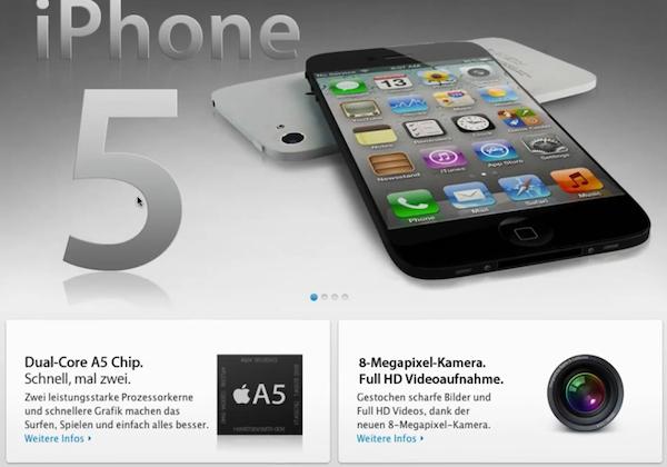 iPhone 5 ยังไม่มา แต่หน้าเว็บไซต์ทางการของ iPhone 5 เก๊มาแล้วจ้า!