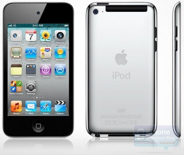 iPod Touch 5 รุ่นล่าสุดรองรับ 3G พร้อมวางจำหน่ายกันยายนนี้!