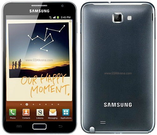 Samsung Galaxy Note ลูกครึ่ง  Galaxy Tab+ Galaxy S