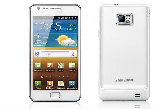 Samsung Galaxy S II สีขาว มาแน่ในงาน