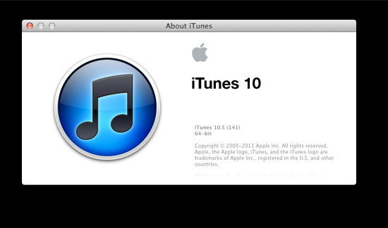 iTunes 10.5 มาแล้ว