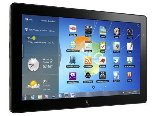 Samsung Slate PC Series 7 แท็บเล็ตรองรับ Windows 8 ขายแล้ววันนี้เพียง 49,000 บาท!