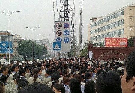 ลูกจ้างบริษัทวัตถุดิบ Apple และ IBM ในจีนหยุดงานประท้วง !