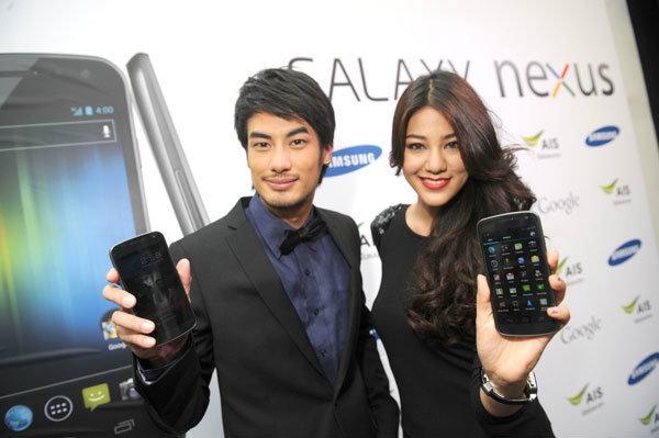 Samsung จับมือ Google เปิดตัวสุดยอดสมาร์ทโฟน Galaxy Nexus