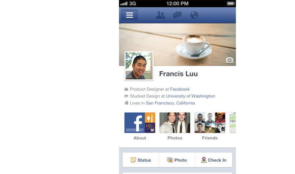 Facebook App ออกอัพเดทเวอร์ชั่น 4.1 เพิ่ม Timeline, หน้า Notification แบบใหม่