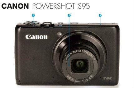 CANON POWERSHOT S95 สวยสะดุดตาและเพียบด้วยฟีเจอร์