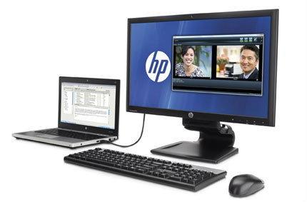 HP เสนอ Compaq L2311c Docking Monitor