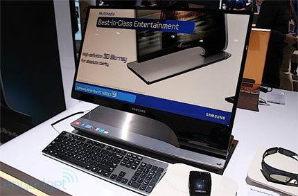 Samsung Series 9 All-in-One สุดหรูล้ำจากงาน CES 2012
