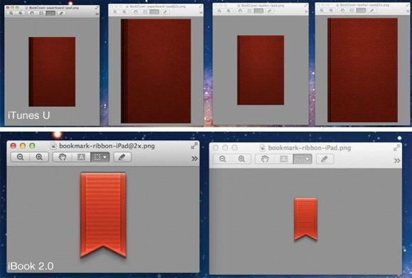 ชัดแล้วล่ะ! ไฟล์ภาพระดับ Retina Display โผล่ใน iBooks 2.0 และ iTunes U