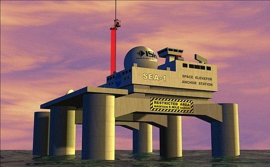 วิศวกรญี่ปุ่นโคตรเทพสร้างลิฟต์ยักษ์เชื่อมโลกสู่อวกาศเสร็จทันใช้งานปี 2052!