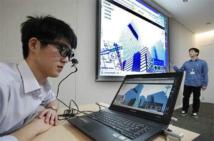 Samsung EyeCAN อุปกรณ์แทนเมาส์สำหรับคนพิการ