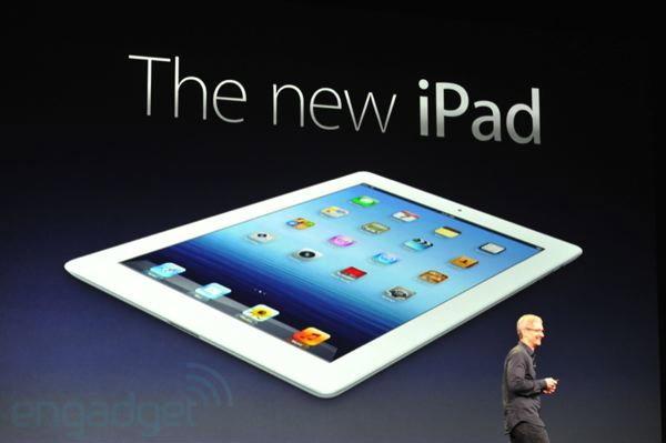 The New iPad เปิดตัวอย่างเป็นทางการแล้ว