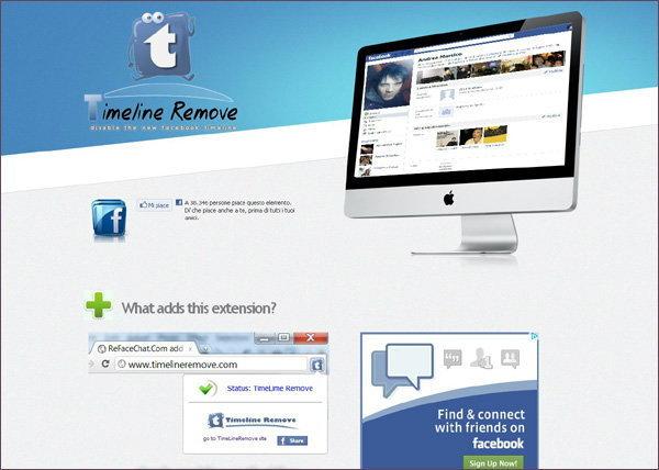 แค่คลิก... หน้า Timeline ก็หายวั๊บกลับไปเป็น Facebook ที่จริงใจเหมือนเดิม
