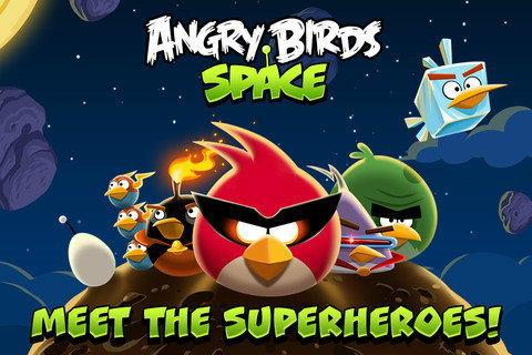 Rovio ปล่อย Angry Birds Space ออกมาแล้ว
