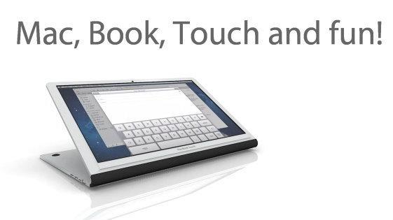 ขอสามคำ! ตามไปดู MacBook Touch ตัวคอนเซ็ปท์กัน! (+video)