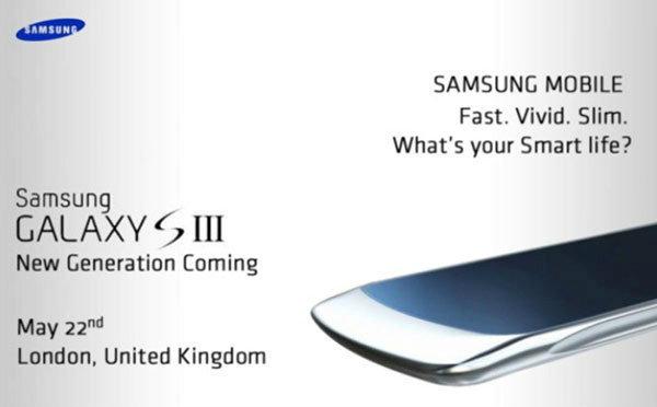 ตัดหน้า iPhone 5 กันเห็นๆ ! Samsung Galaxy S III ภาพหลุดระบุ เปิดตัว 22 พ.ค.!