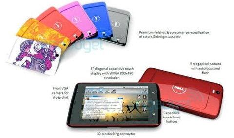 ข้อมูล Streak แท็บเล็ต Dell รั่วว่อนเน็ต!!!