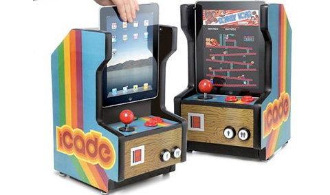 ว้าว!!! iCade ตู้เกมส์ย่อส่วนสำหรับ iPad
