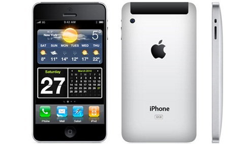 iPhone 4 หรือ iPhone HD อีกรูปแบบที่มีระดับ