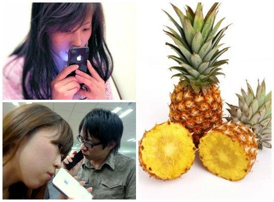 ตะลึง iPhone ที่จีนมีกลิ่นสับปะรดโชยมาจากช่องหูฟัง