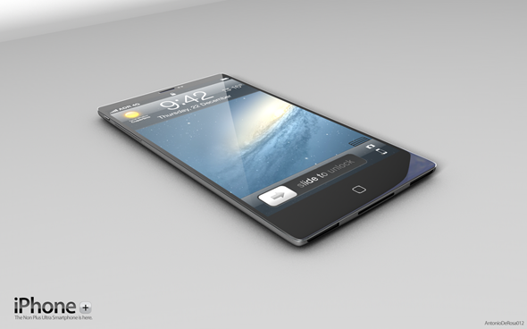 หลุดดีไซน์ iPhone Plus กับบอดี้โลหะบางสุดยอดระดับ iPhone 5!