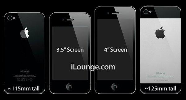 แหล่งข่าวเผย ไอโฟน 5 รูปร่างยาวขึ้น หน้าจอ 4 นิ้ว เปลี่ยน dock connector แบบใหม่