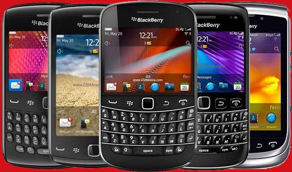 อัพเดทราคามือถือ BlackBerry ทั้ง ราคากลาง และ ราคาศูนย์